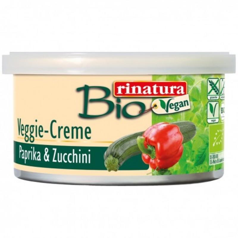 Веганский паштет из паприки и цуккини Rinatura органический, 125 г