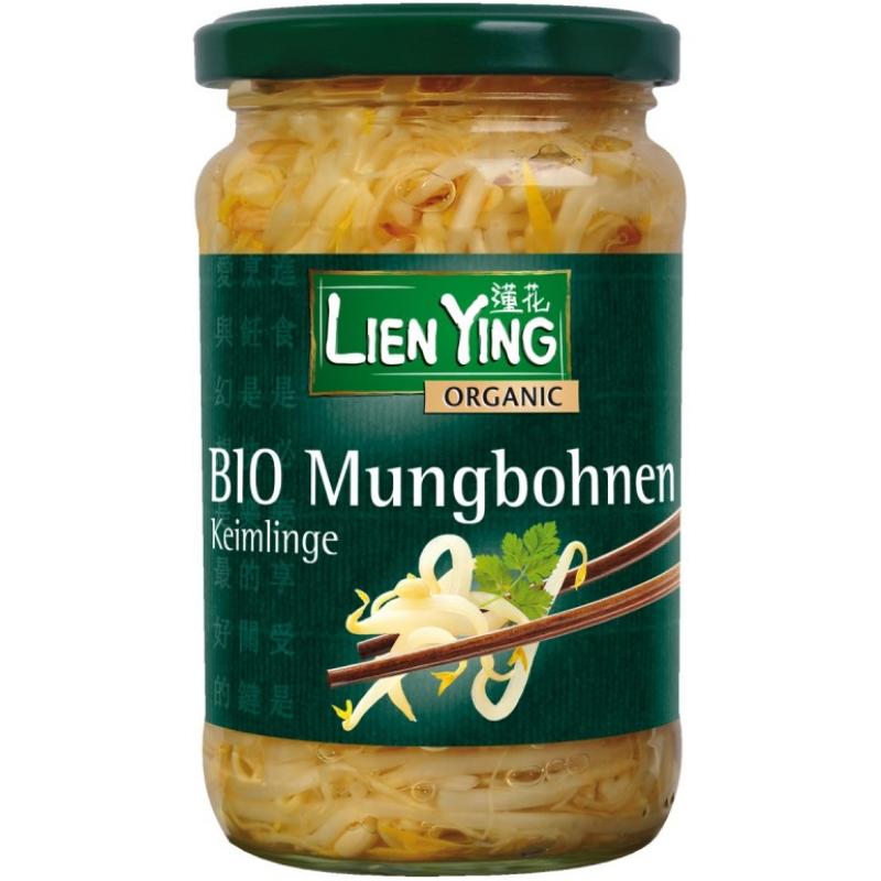 Ростки фасоли мунг Lien Ying органические, 330 г