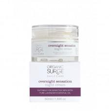 Увлажняющий ночной крем для лица Organic Surge органический, 50 мл