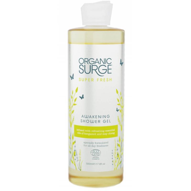 """Гель для душа """"Суперсвежесть"""" Organic Surge органический, 500 мл"""