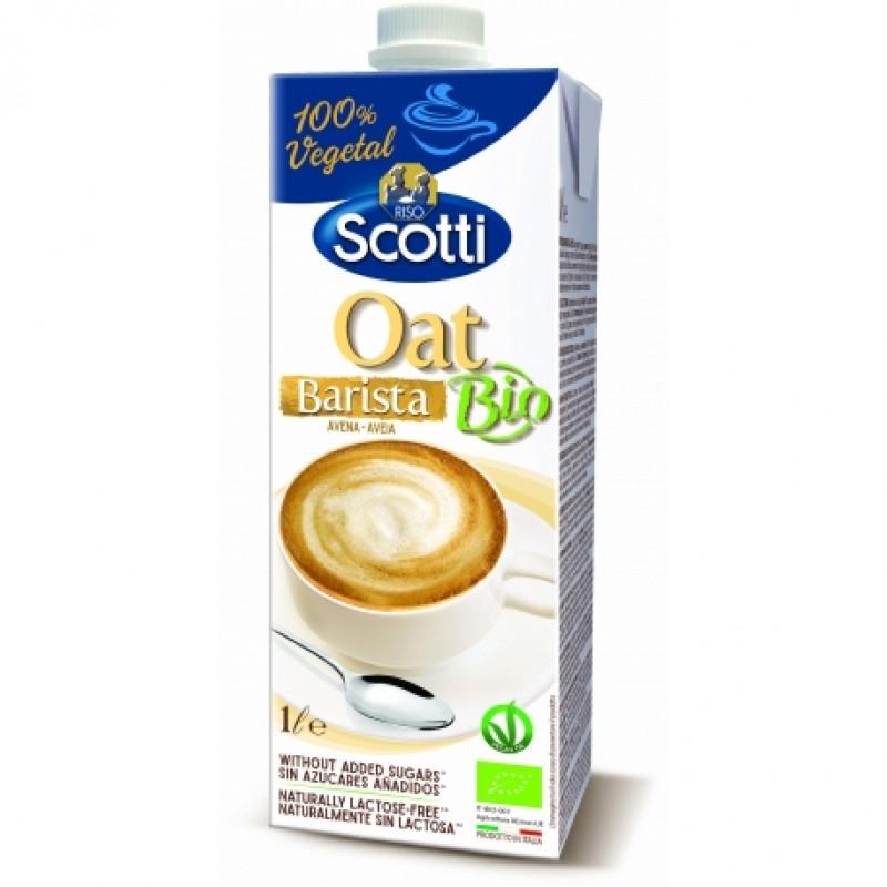 Напиток овсяный для капучино Riso Scotti Oat Barista органический, 1 л