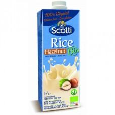 Напиток рисовый с лесным орехом органический Riso Scotti, 1 л