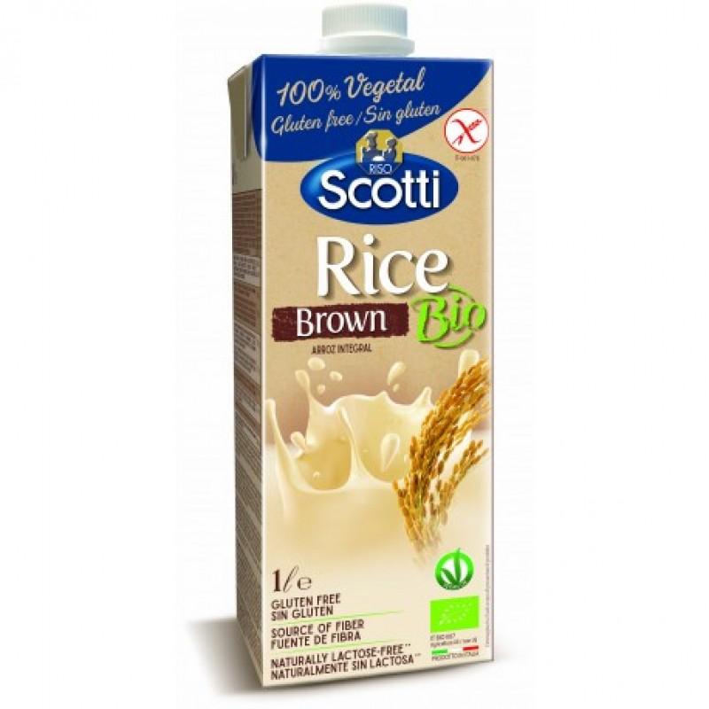 Напиток из коричневого риса органический Riso Scotti, 1 л