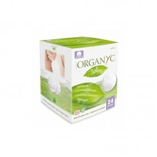 Хлопковые вкладыши для груди Organyc органические, 24 шт.