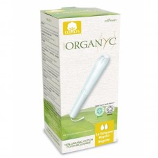 Тампоны Regular для умеренных выделений органические Organyc, с аппликатором, 16 шт.