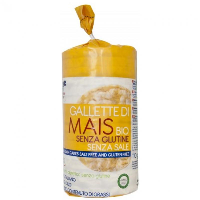 Хлебцы кукурузные без соли La Finestra Sul Cielo органические, 110 г