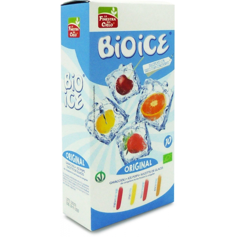 Напиток для замораживания La Finestra Sul Cielo Bio Ice органический, 400 мл (10х40 мл)