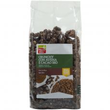 Кранчи с овсяными хлопьями и какао La Finestra Sul Cielo органические, 375 г