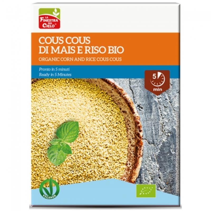 Кускус из кукурузы и риса La Finestra Sul Cielo органический, 500 г