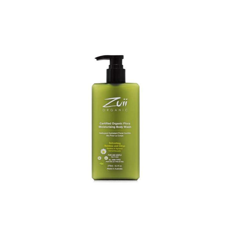 Увлажняющий гель для тела Zuii Organic Flora Moisturising Body Wash органический