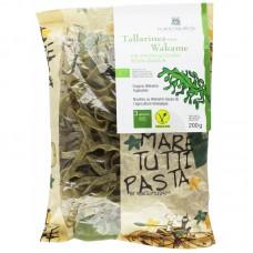 Паста тальятелле з водорослями вакамэ органическая Porto Muinos, 200 г