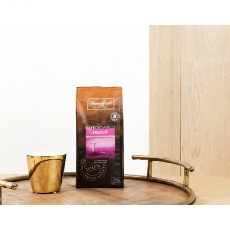 Кофе в зернах Бразилия Café Organico Simon Lévelt органический, 250 г