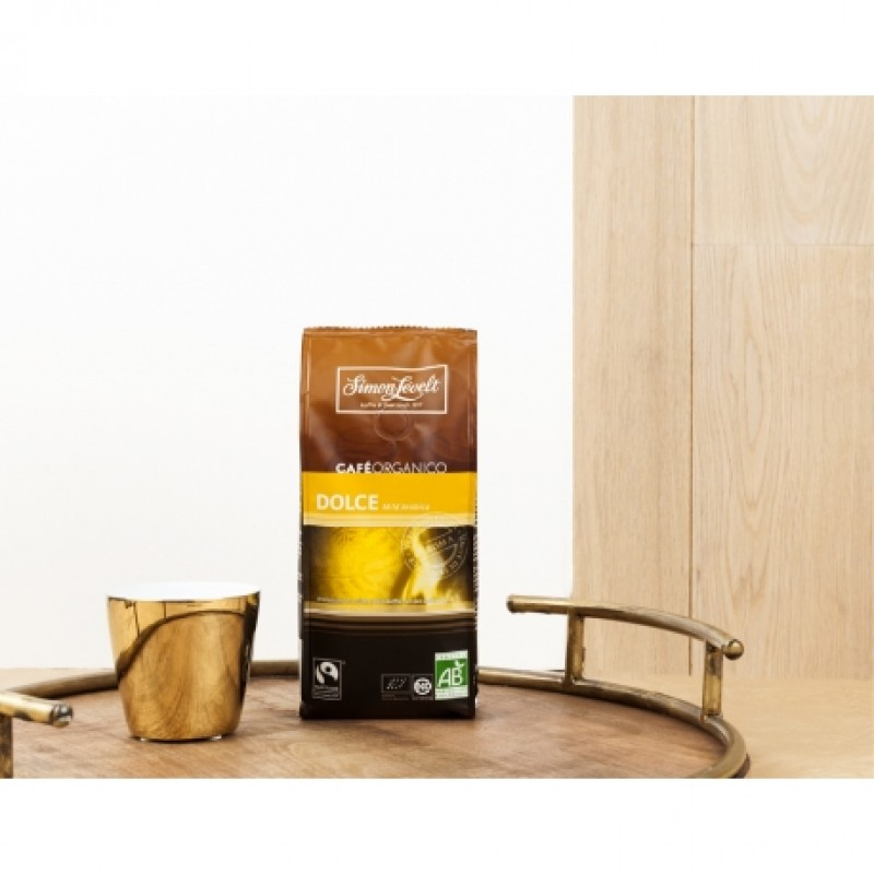 Кофе в зернах Уганда Café Organico Simon Lévelt органический, 250 г