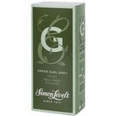 Чай зеленый Green Earl Grey Simon Lévelt органический, 20 пакетиков