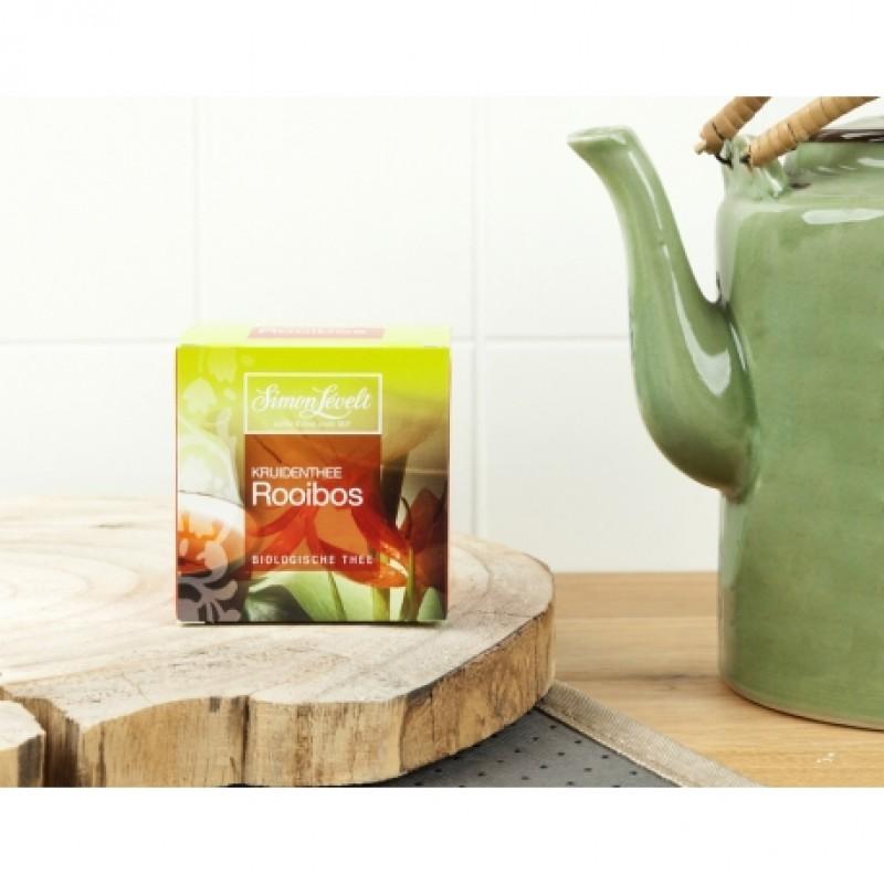 Чай травяной ройбуш Rooibos Simon Lévelt органический, 10 пакетиков
