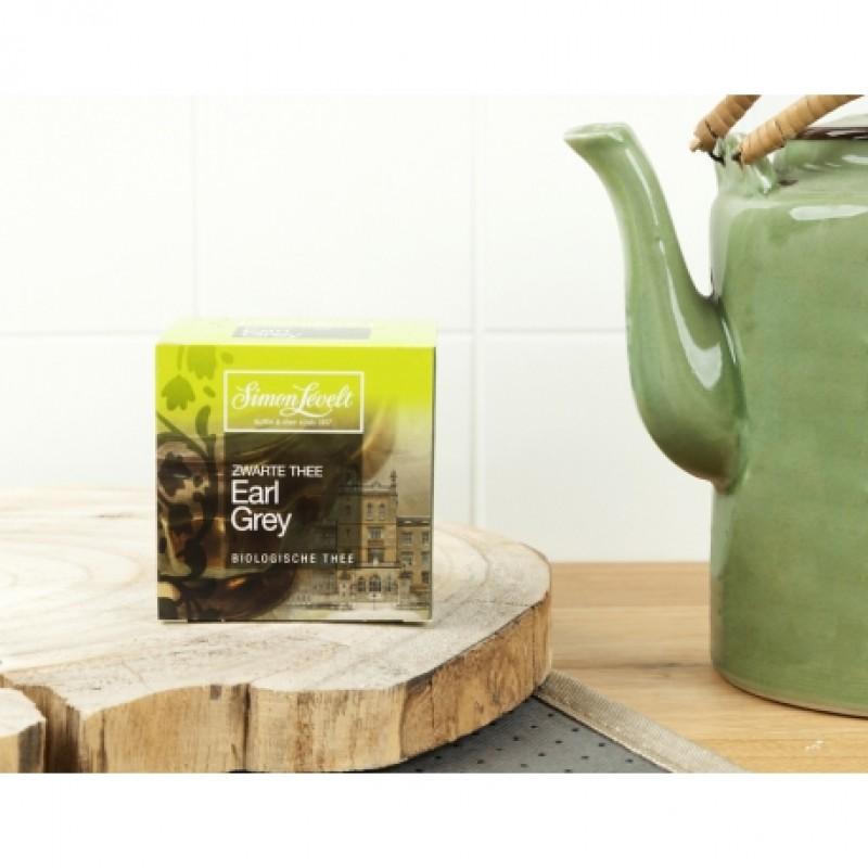 Чай черный Earl Grey Simon Lévelt органический, 10 пакетиков
