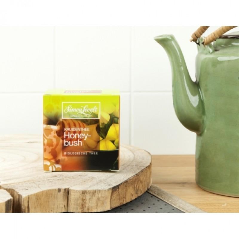 Чай травяной ханибуш Honeybush Simon Lévelt органический, 10 пакетиков