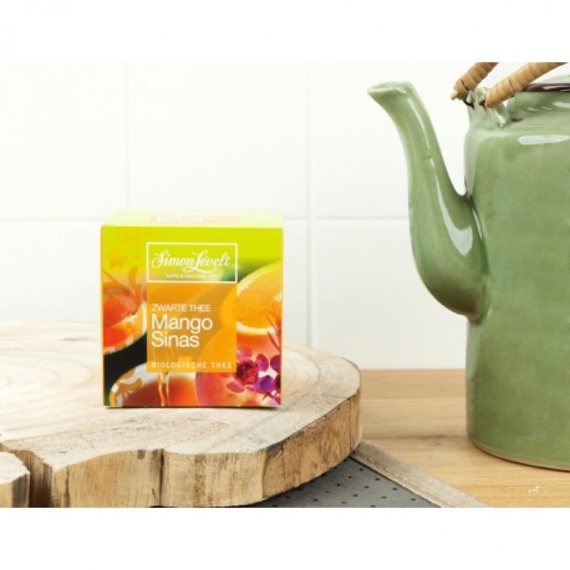 Чай черный Mango Orange Simon Lévelt органический, 10 пакетиков