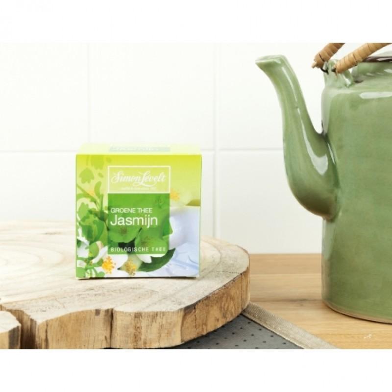 Чай зеленый Jasmine Simon Lévelt органический, 10 пакетиков