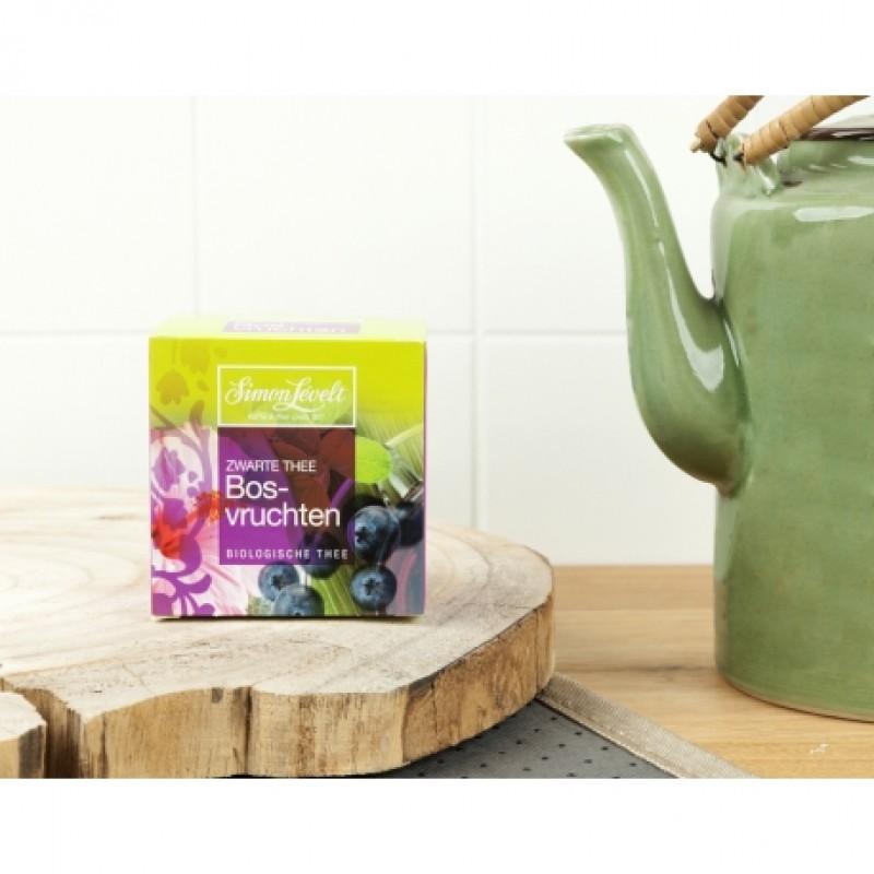Чай черный Forest Fruits Simon Lévelt органический, 10 пакетиков