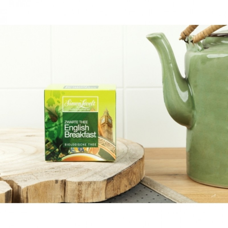 Чай черный English Breakfast Simon Lévelt органический, 10 пакетиков