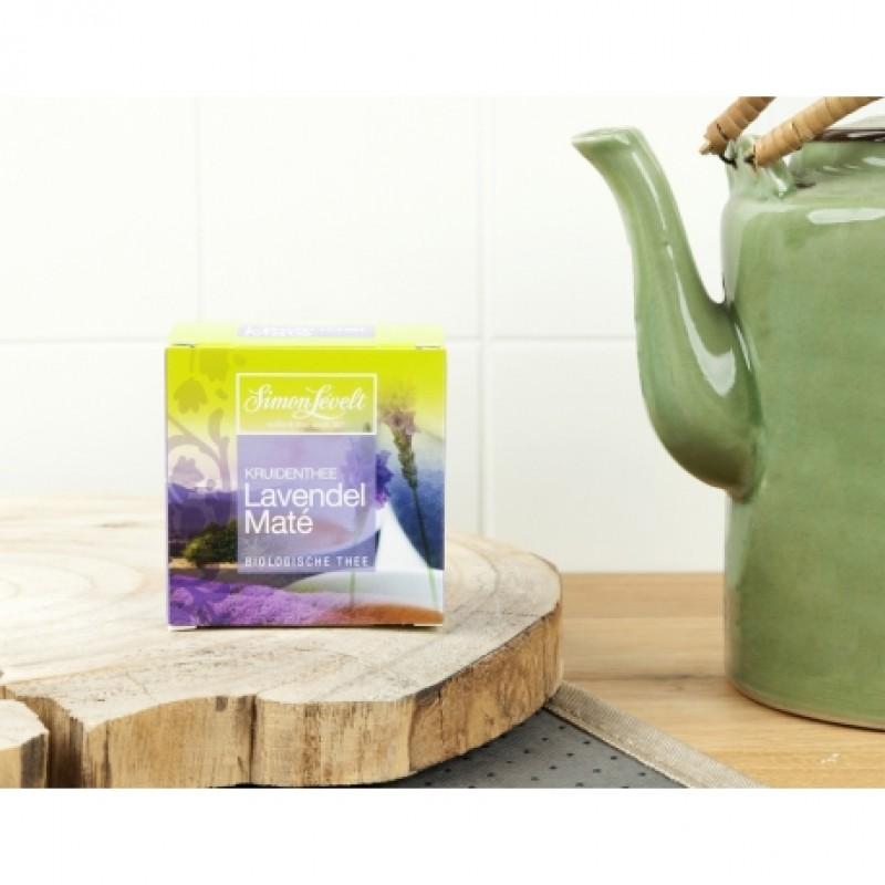 Чай травяной Lavender Maté Simon Lévelt органический, 10 пакетиков