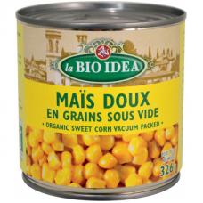 Кукуруза сладкая la Bio Idea органическая, 340 г