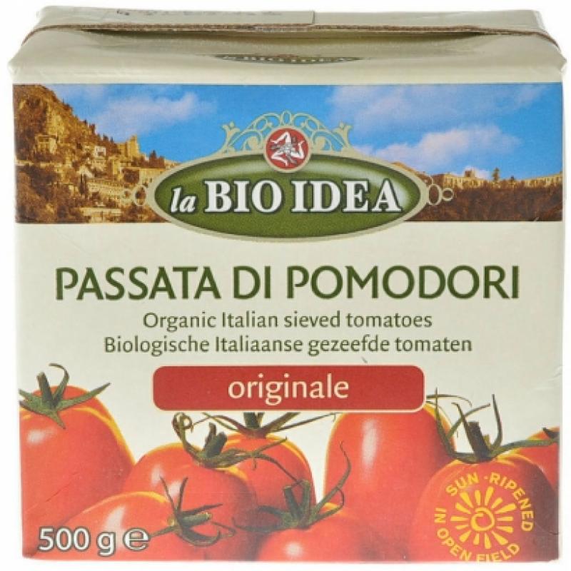 Томатное пюре La Bio Idea органическое, 500 г