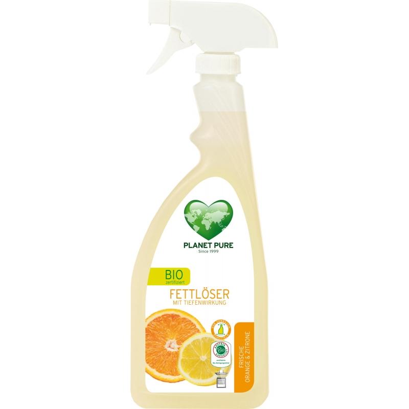 """Средство для удаления жира """"Апельсин и лимон"""" Planet Pure органическое, 510 мл"""