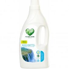 Жидкость для стирки гипоаллергенная для чувствительной кожи Planet Pure органическая 1,55 л