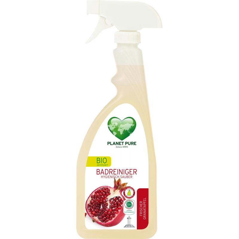 """Средство для чистки ванной комнаты """"Свежий гранат"""" Planet Pure спрей органический, 510 мл"""