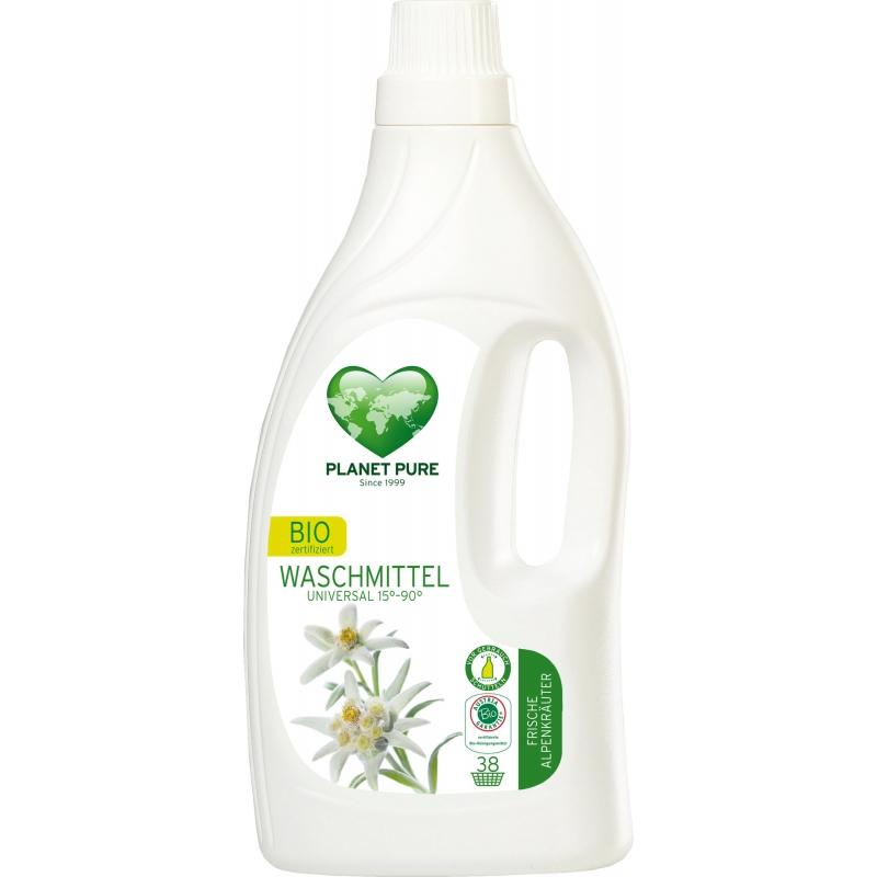 """Жидкость для стирки """"Горные травы"""" Planet Pure универсальная органическая, 1,55 л"""