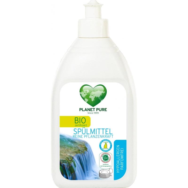 Средство для мытья посуды гипоаллергенное Planet Pure органическое, 510 мл