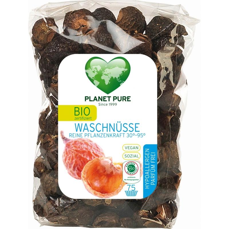 Мыльные орехи гипоаллергенные без запаха Planet Pure органические, 350 г