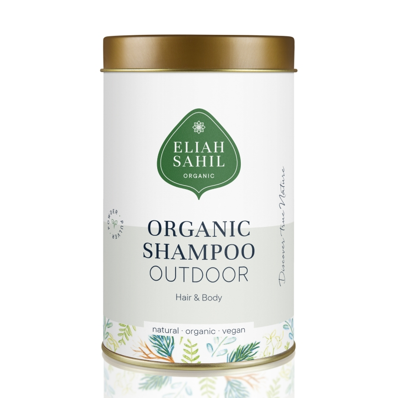 Шампунь-порошок для волос и тела Eliah Sahil Outdoor органический, 100 г