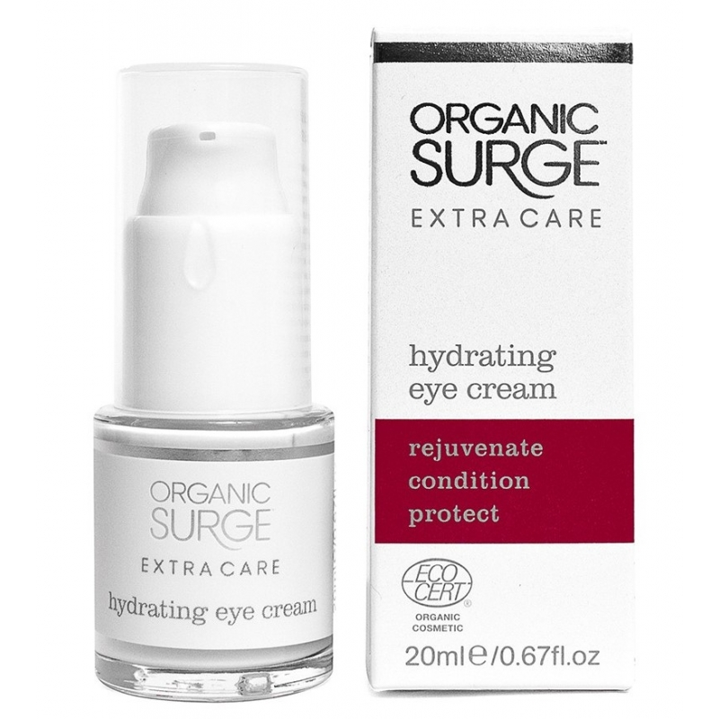 Увлажняющий крем для кожи вокруг глаз Organic Surge органический, 15 мл