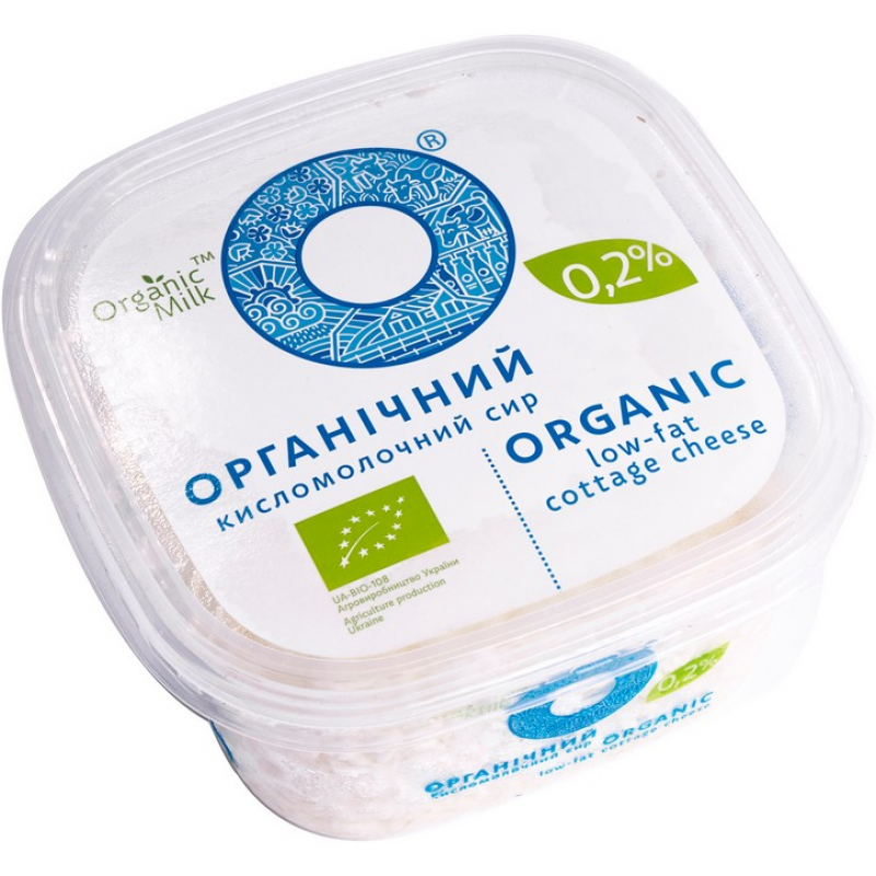 Творог Organic Milk органический нежирный, 300 г