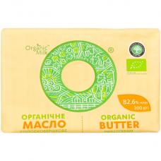 Масло сладкосливочное Organic Milk органическое жирн. 82,6%, 200 г
