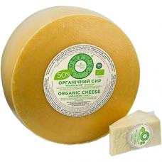 """Сыр твердый """"Украинский"""" Organic Milk органический жирн. 50%, кг"""
