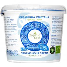Сметана Organic Milk термостатная органическая жирн. 10%, 270 г