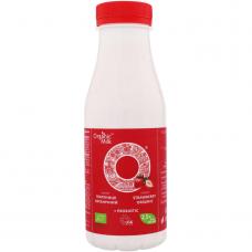 """Йогурт питьевой """"клубника"""" жирн. 2,5% Organic Milk органический, 300 г (с пробиотиком)"""