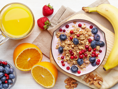 Завтрак из Наших продуктов